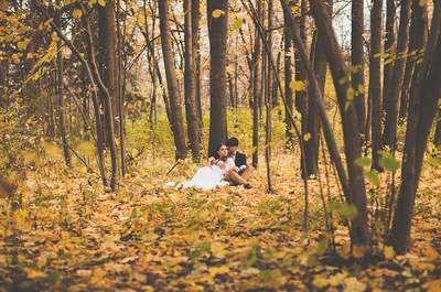 Свадьба осенью в Москве: 10 самых красивых мест