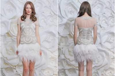 De nieuwe wintercollectie bruidsjurken van Naeem Khan 2015!