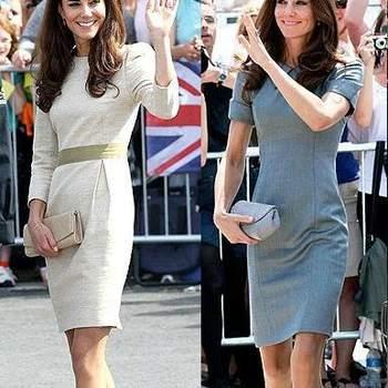 Altre due occasioni in cui Kate Middleton ha deciso di sfoggiare un semplice tubino risultando comunque impeccabile