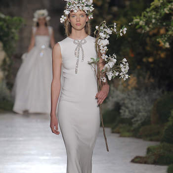 Reem Acra. Credits: Barcelona Bridal Fashion Week