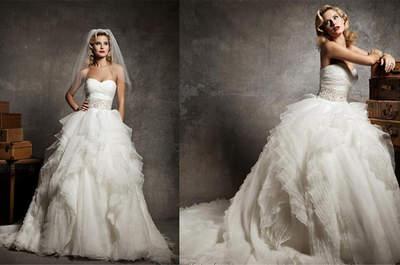 6 inspirações de vestidos de noiva que estão em alta
