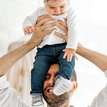 Daniel Oliveira partilhou um foto amorosa com a filha. Na legenda... um coração. Palavras para quê? | Foto reprodução instagram @daniel_oliveira