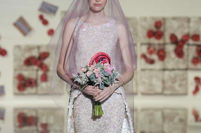 Vestidos de novia Jesús Peiró 2017: Un mundo lleno de brillo y dulzura que amarás