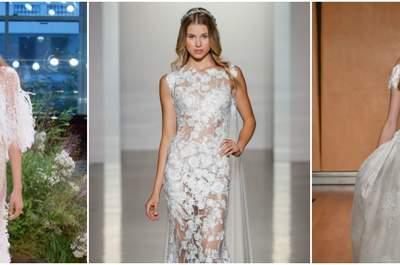 New York Bridal Week 2017: ¡Inspírate en los vestidos de novia que más triunfarán!