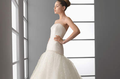 Tule é o tecido da vez no seu vestido de noiva