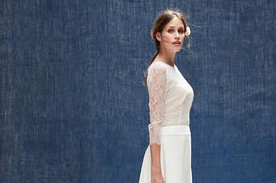 Robes de mariée Maison Floret 2018 : des modèles inspirés des fifties