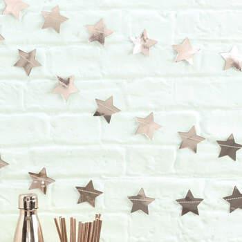 Guirnalda de estrellas decorativas- Compra en The Wedding Shop