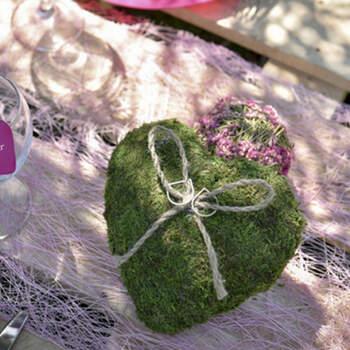 Porta anillos De Boda Musgo y Hierba- Compra en The Wedding Shop