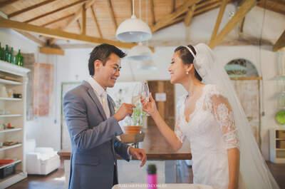 Casamento incrível de Maine e Igor na Fazenda: decoração linda e história de amor de uma vida inteira