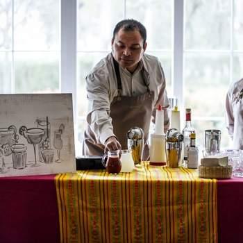 Мексиканский уголок на ферме La Muñoza. Catering The Cook. Фото: Esif Fotografia
