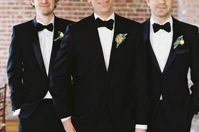 La nueva figura: los damos de boda o best men, conoce todo sobre ellos para tu día