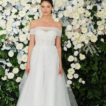 Anne Barge. Credits: New York Bridal Week