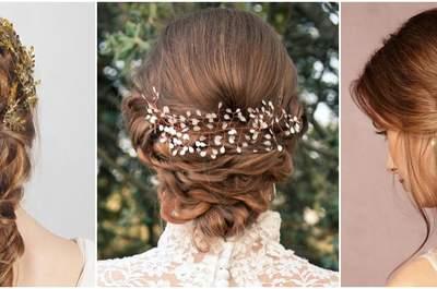 Die besondere Brautfrisur 2015 als eigenständiger Schmuck: Zeig her deine Haarlänge!