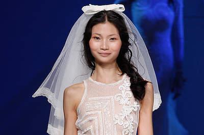 Quelle coiffure avec un voile de mariée ?