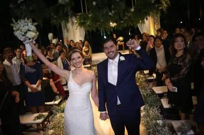Casamento romântico de Mayara & Roger: uma super produção com toques DIY!