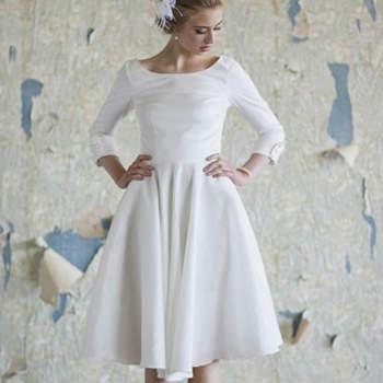 Vestido Audrey de Ruche Bridal