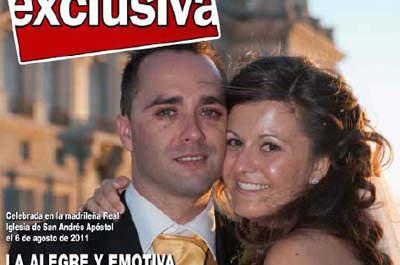 Protagoniza tu propia revista y un programa del corazón el día de tu boda