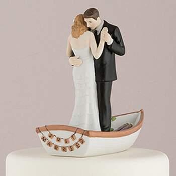 Cake Topper Conjonts Sur Le Bateau - The Wedding Shop !