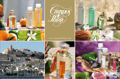 Dale a tu boda un toque mediterráneo con los productos de belleza Campos de Ibiza