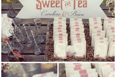 Tea time, czyli herbaciany bufet na weselu