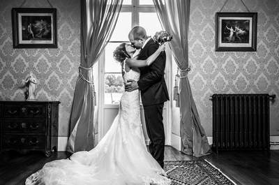 Farhanna et Clément : un joli mariage rose et blanc dans un château des Yvelines