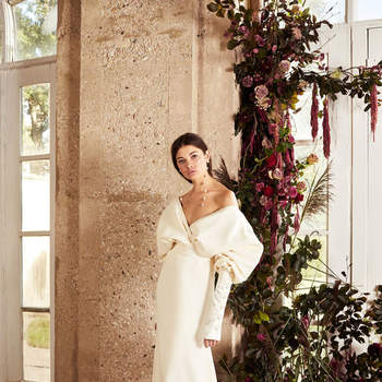 Photo : Printemps Mariage - Danielle Frankel, robe Berthe 7.300€