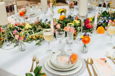 Un mariage fleuri et coloré pour ce shooting aux couleurs du printemps