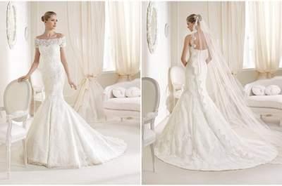 Robe de mariée de la semaine, une coupe classique de la Sposa !