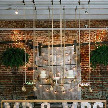 Stile industrial chic per le decorazioni del tuo matrimonio: ecco 30 idee uniche!