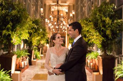 Paula & Fernando: casamento clássico impecável no Jockey Club de São Paulo!