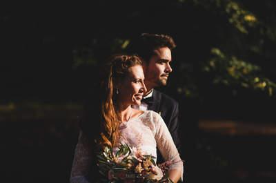 Claire et Thibaut : un mariage fleuri dans un chalet en plein cœur de Paris