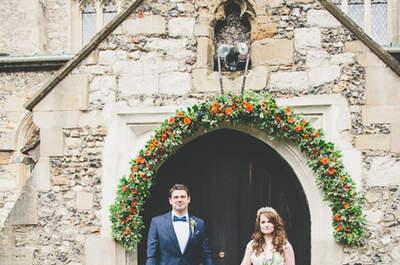 Real Wedding: An Alice in Wonderland inspired woodland wedding