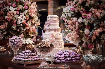 Mesas de doces de casamento do Instagram: inspirações maravilhosas!