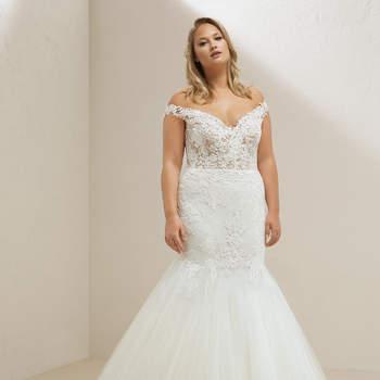 Modelo vestido Miri da Pronovias