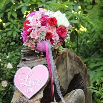 Blumenstrauß - die Blumentante