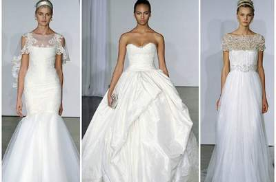 Marchesa Fall 2013 Bridal Collection, pizzo e tulle per la sposa romantica!
