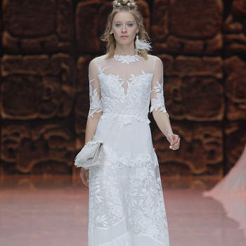 Inmaculada Garcia. Credits_ Barcelona Bridal Fashion Week