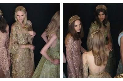 Elie Saab Haute Couture Automne-Hiver 2015-16 : Revivez l'un des défilés les plus impressionnants de l'année