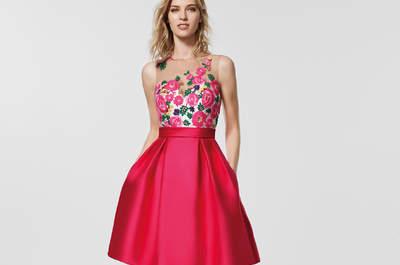 Vestidos para invitadas Pronovias 2018. ¡Lucirás espléndida en cualquier evento!