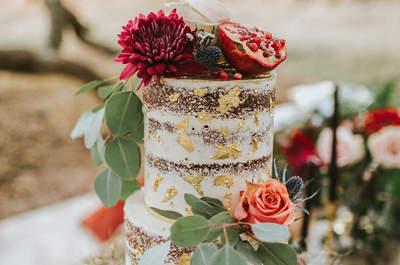 Las tendencias en pasteles de boda que debes conocer ¡hoy mismo!