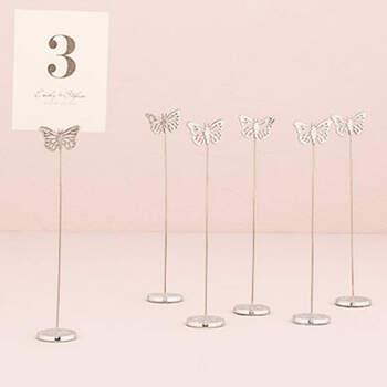 Marcasitio Mariposa 6 unidades- Compra en The Wedding Shop