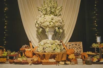 Los grandes secretos del catering: seis tips para encantar a todos en tu boda
