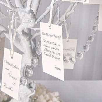 Tarjetas para mensajes 10 unidades- Compra en The Wedding Shop
