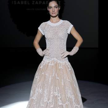 Isabel Zapardiez | Credits: Valmont Barcelona Bridal Fashion Week