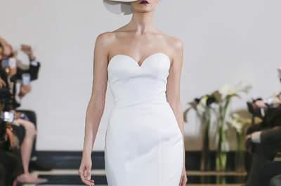 Vestidos de novia para mujeres altas que te van a sorprender ¡sin duda!
