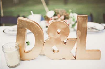 4 idées pour un mariage qui brille ! Du doré sans modération !