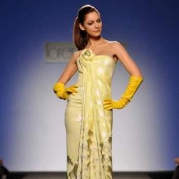 Un originalissimo modello di Lorenzo Riva color giallo