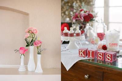 Decorazioni in rosa per il tuo banchetto nuziale