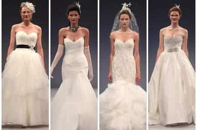 Anne Barge Wedding Dresses Fall 2013: Frills, Flowers, & Femininity