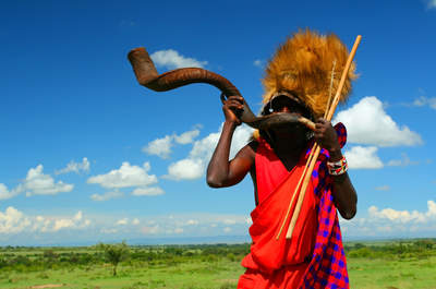 Guerriero Masai. Foto via edreams.it